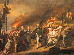 The Surrender of the Dutch Admiral de Winter to Admiral Duncan at the Battle of Camperdown (The Victory of Lord Duncan)