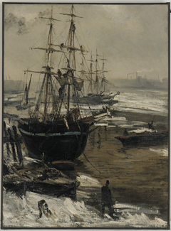 The Thames in Ice