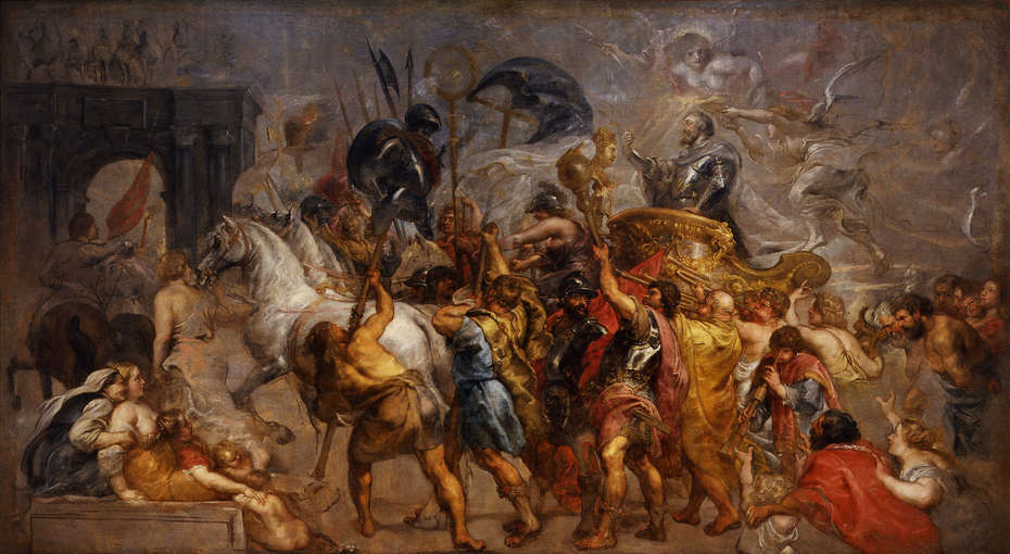 The Triumphal Entry of Henry IV into Paris
