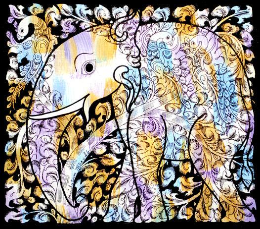 Tree of life in elephant