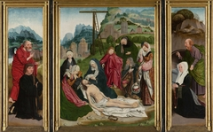 Triptych with the Lamentation