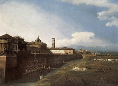 Turin, the Royal Palace from the West