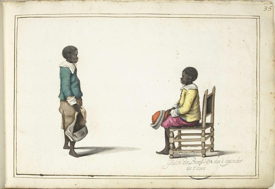 Twee Afrikaanse jongetjes