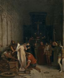 Una escena de la Inquisición