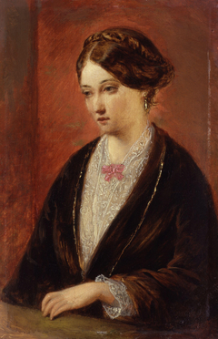 Unknown woman, formerly known as Florence Nightingale