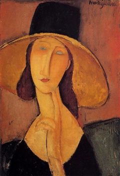 Jean Hebuterne with large hat