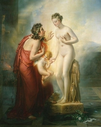 Pygmalion et Galatée