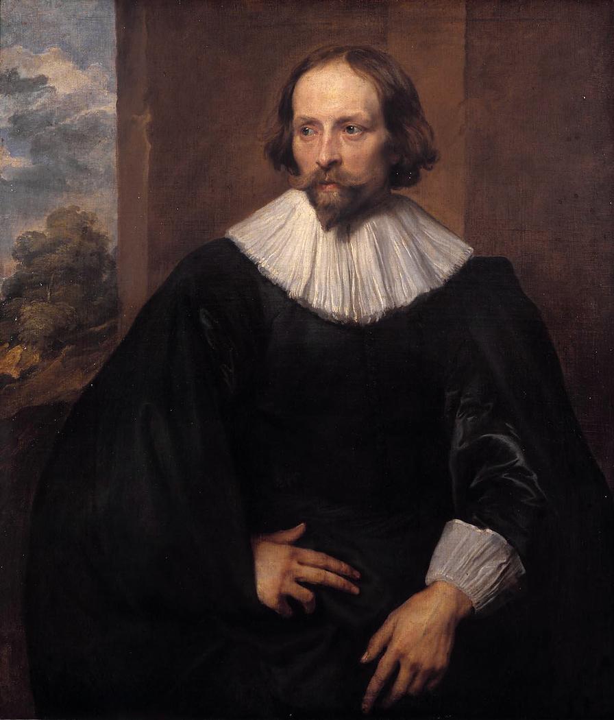 Portrait of the painter Quinten Simons