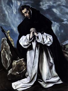 St Dominic in Prayer