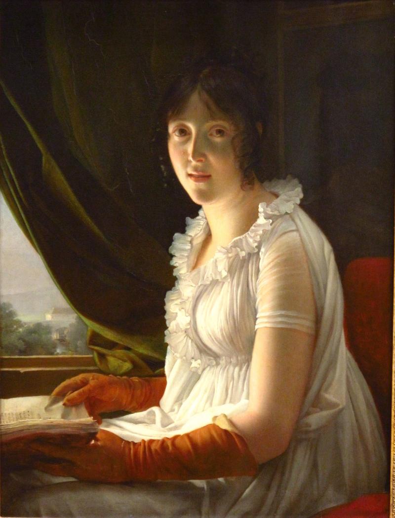 Madame Barbier-Walbonne, Artist's Wife