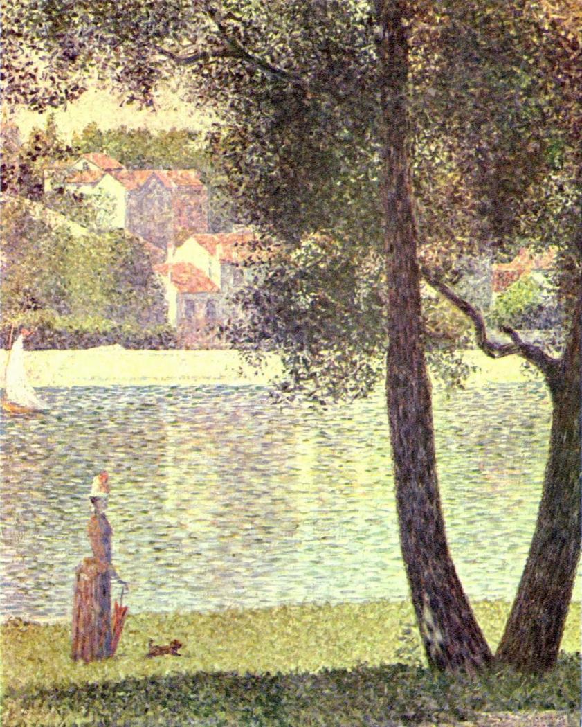 The Seine at Courbevoie