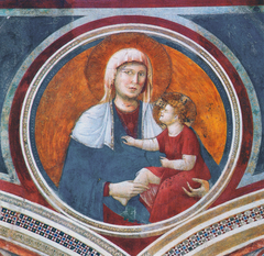 Madonna Col Bambino Ridente