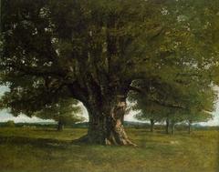 Le chêne de Flagey