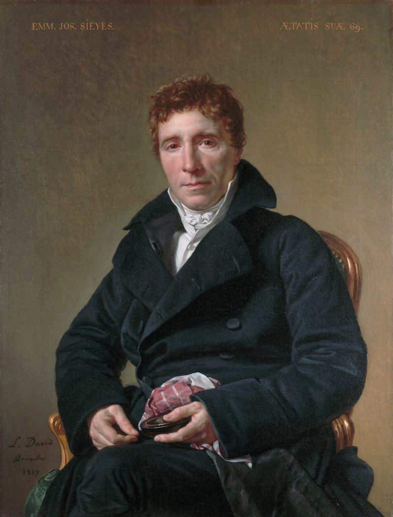 Portrait of Emmanuel-Joseph Sieyès
