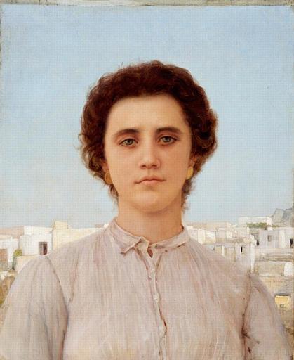 Jeune fille de Capri