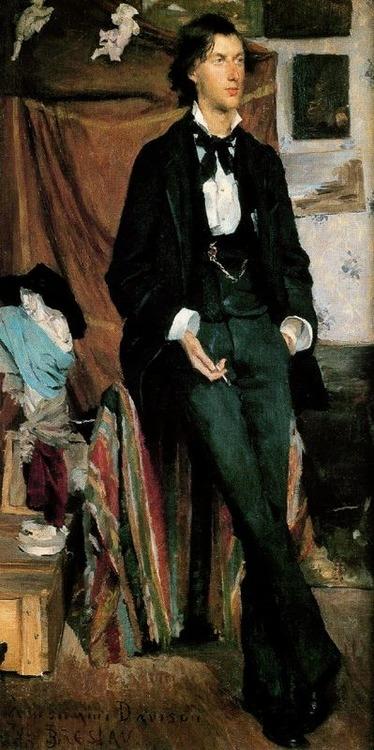 Portrait of Henry Davison, English Poet