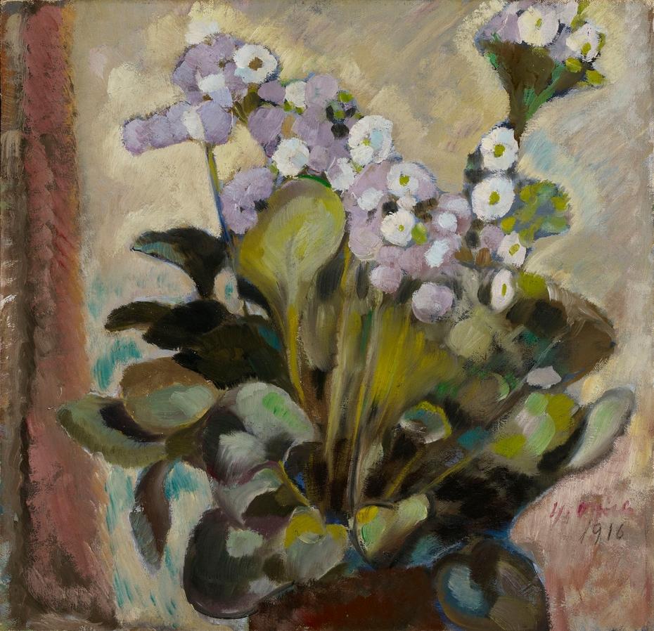 Kukkia ruukussa