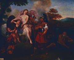 Vénus donnant ses armes à Énée