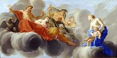 Vénus présente l'amour à Jupiter