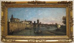 View of Verona with the Castelvecchio and Ponte Scaligero