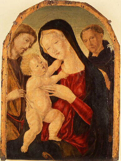 Virgin and Child and Two Saints