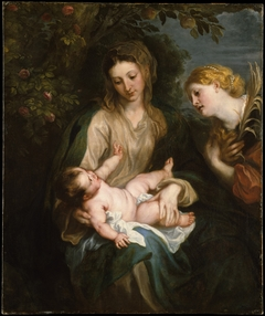 Virgin and Child with Saint Catherine of Alexandria