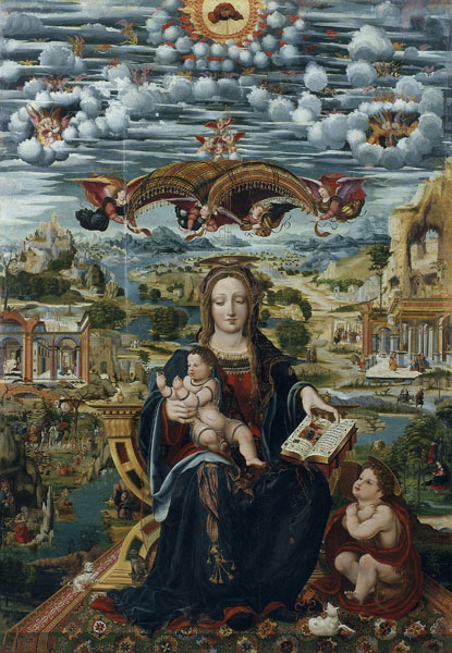 Virgin and Child with the Infant Saint John