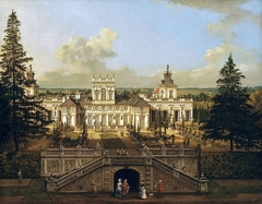 Wilanów Palace as seen from the garden