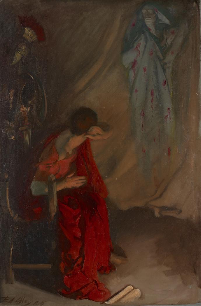 Within the Tent of Brutus: Enter the Ghost of Caesar, Julius Caesar, Act IV, Scene III