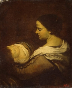 Woman with Sleeping Child