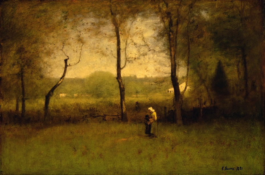 Wood Gatherers, an Autumn Afternoon
