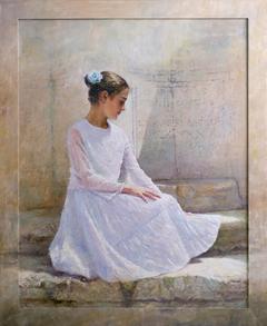 «Στο ρωμαϊκό πηγάδι», 100 x 120 cm, oil oncanvas.