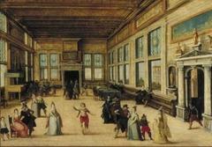 A Ballroom in Renaissance Style