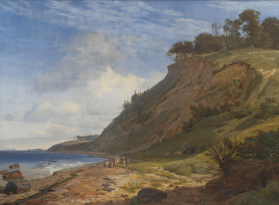 A Danish Coast. View from Kitnæs by the Roskilde Fjord