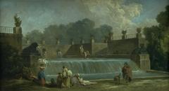A Fountain with Washerwomen