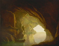 A Grotto in the Gulf of Salerno, Sunset