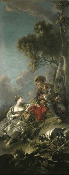 A Pastoral Scene ('L'Aimable Pastorale')