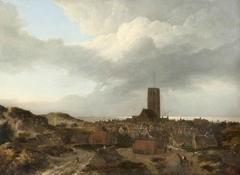 A View of Egmond aan Zee