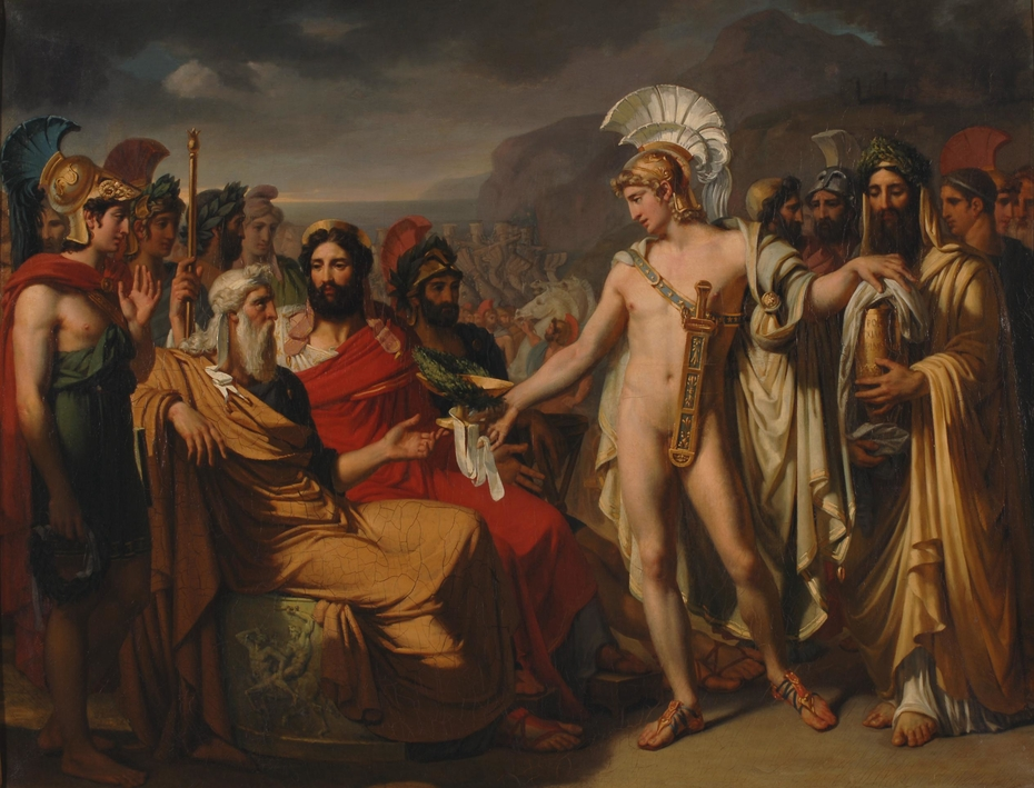 Achilles Introduced to Nestor