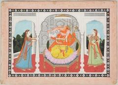 Adoration of Ganesha
