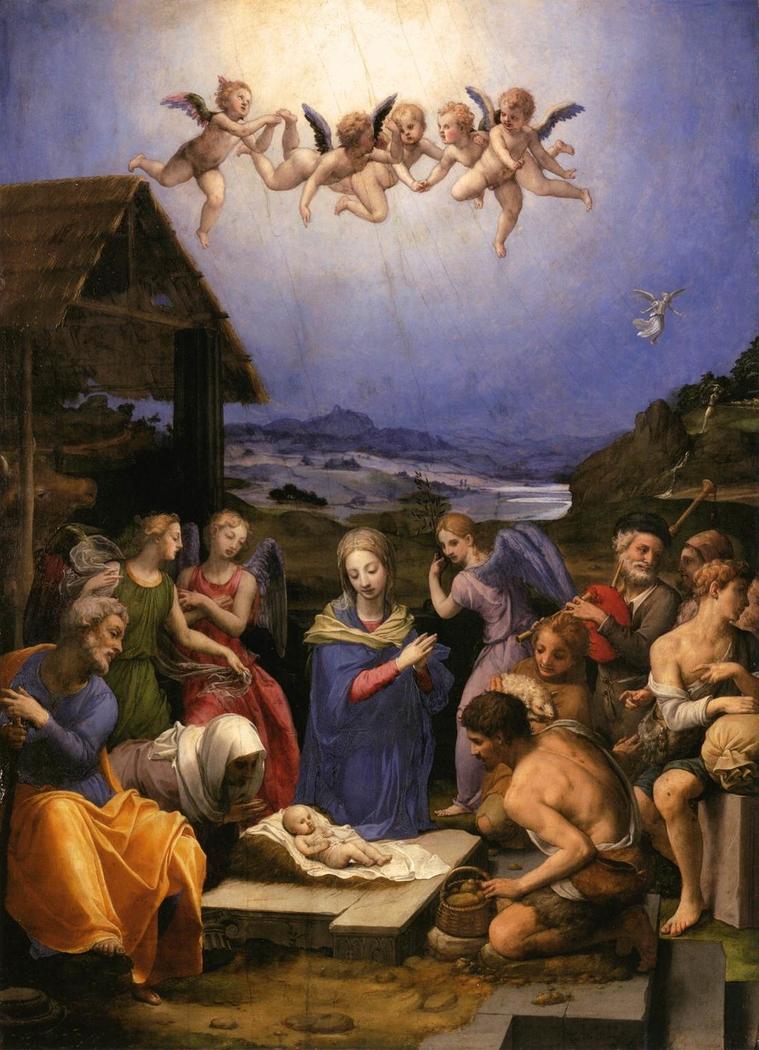 Adoration of the Shepherds (Bronzino)