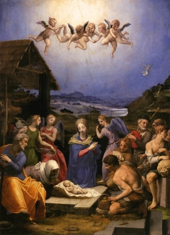 Adoration of the Shepherds (Bronzino)