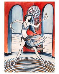 Aegean dancer in Datça