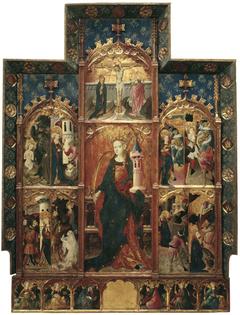 Altarpiece of Saint Barbara