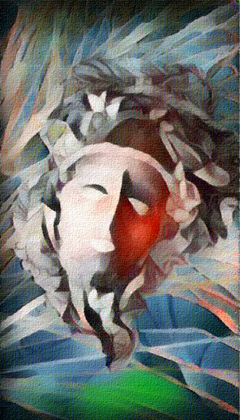 Ancient Greek face mask