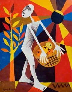 Apples. 2001. Oil canvas. 90x70 cm