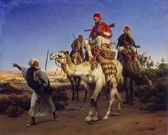 Arabs Travelling in the Desert