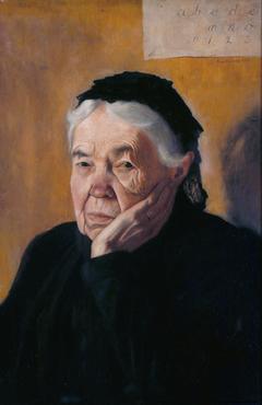 Auntie; The Artist's Aunt