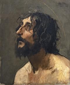 Autoportrait en saint Jean-Baptiste - Henri Martin