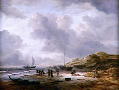 Beach and Dunes at Scheveningen